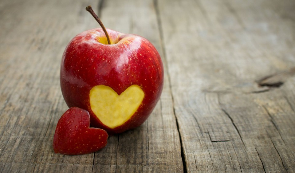 mela-cuore
