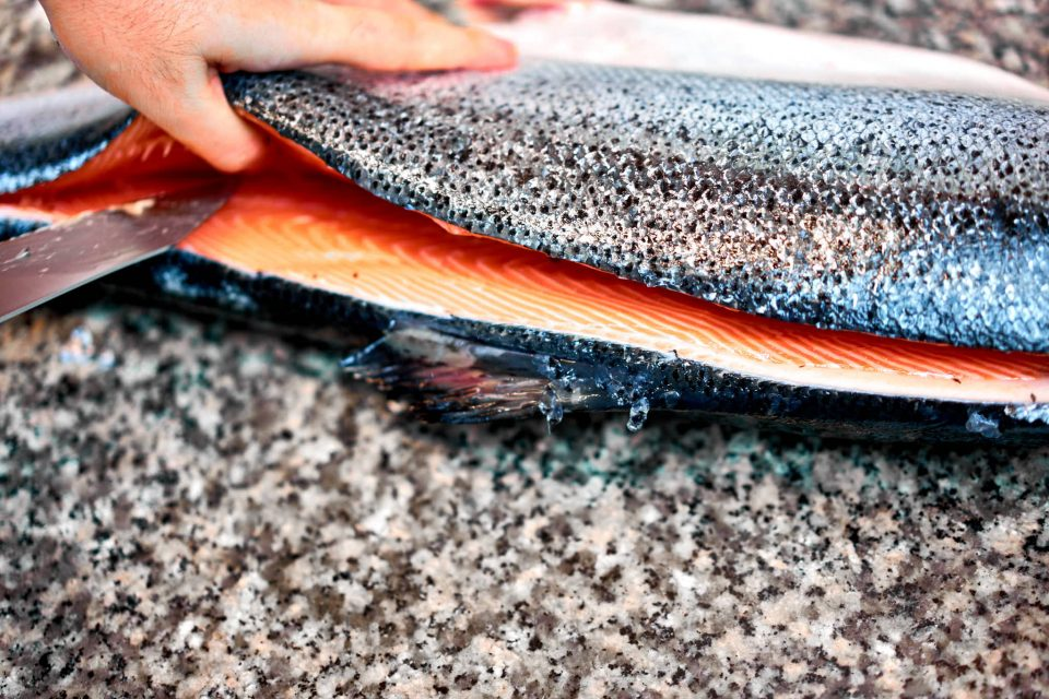 salmone-sfilettatura
