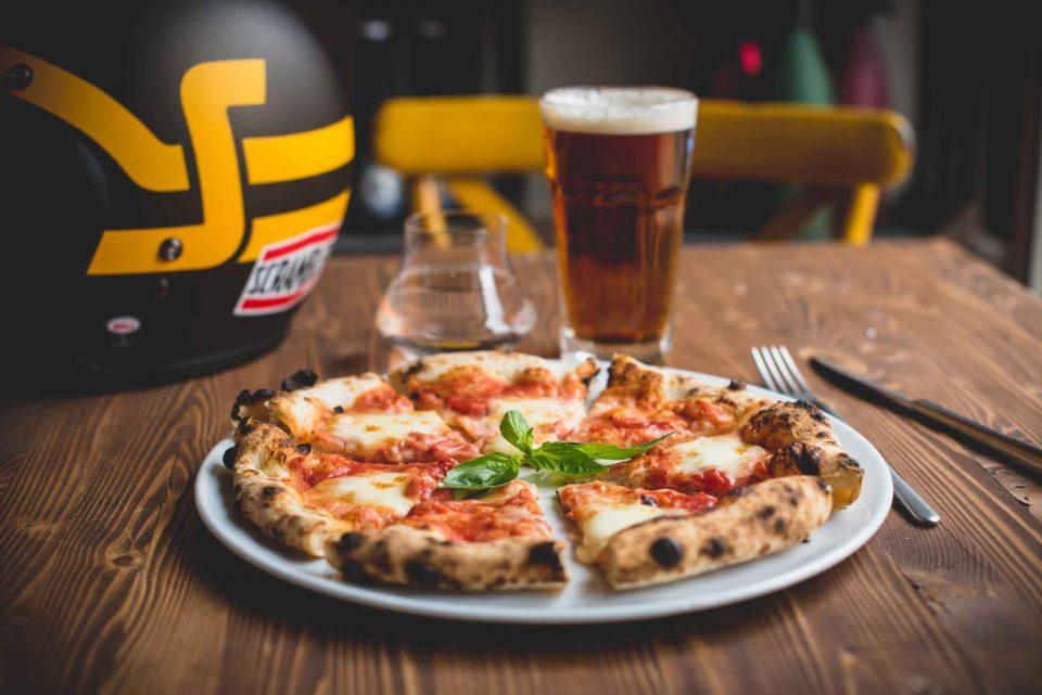 Bologna pizza margherita Ducati Scrambler