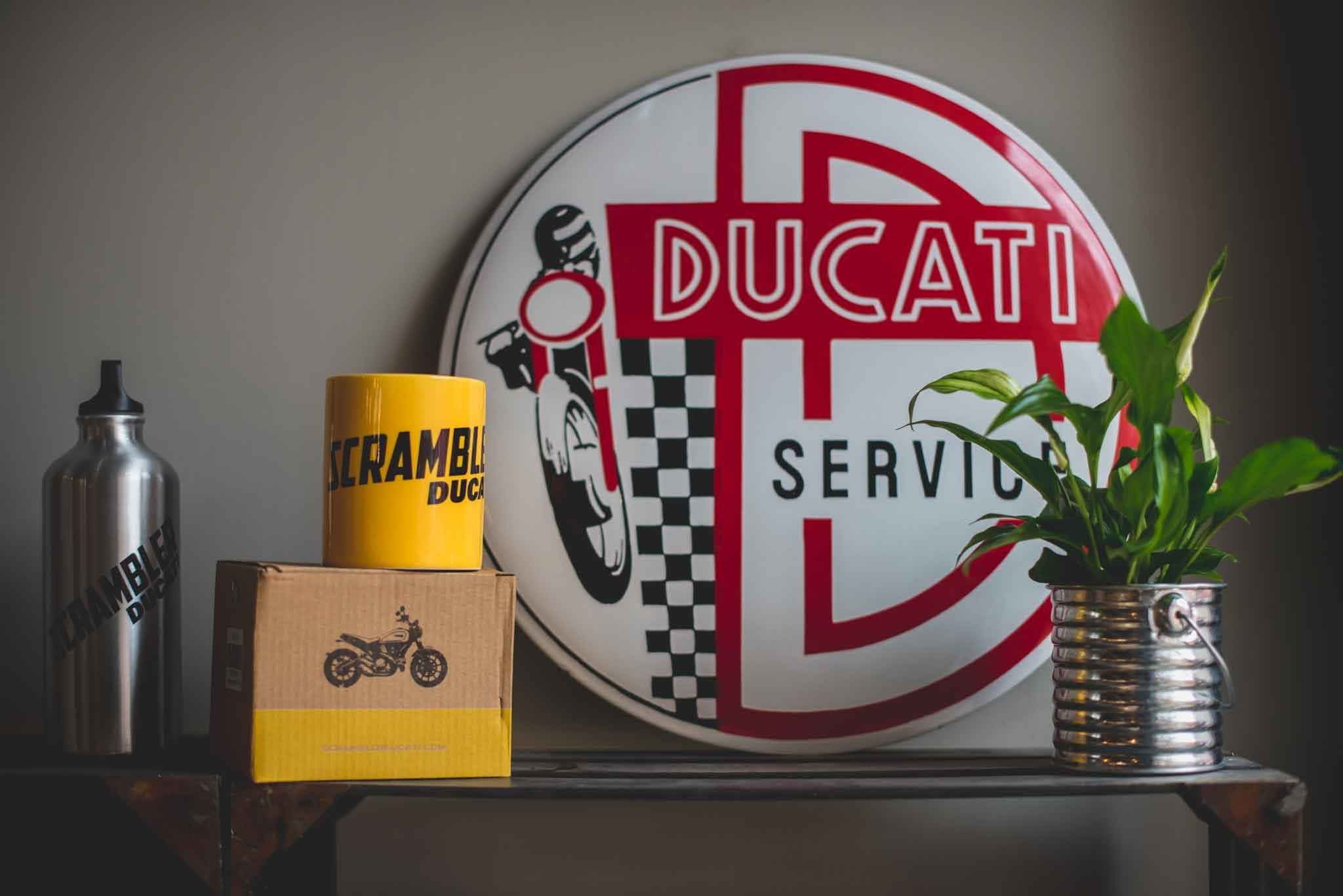 Ducati Scrambler oggetti
