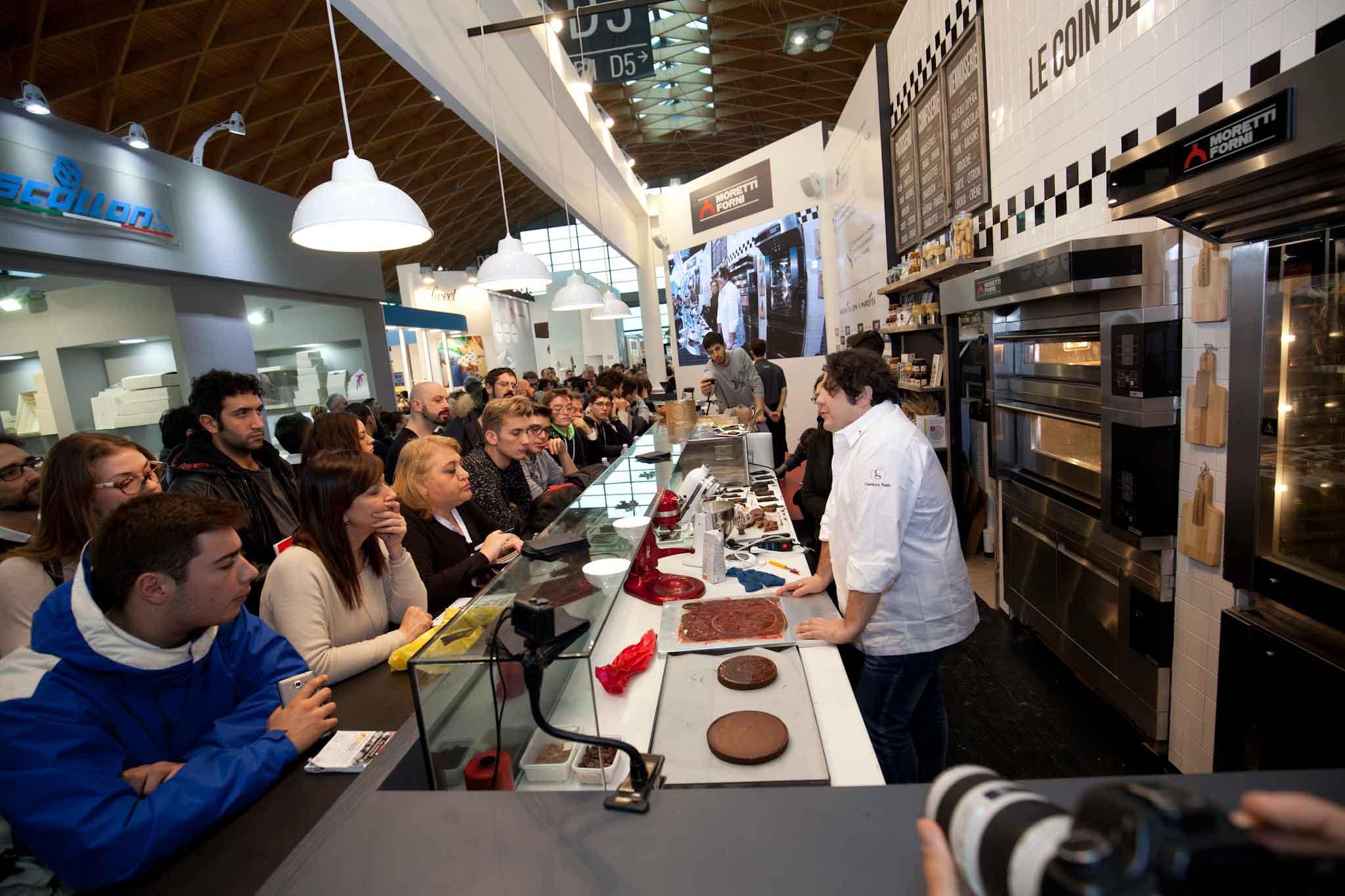 Gianluca Fusto show cooking