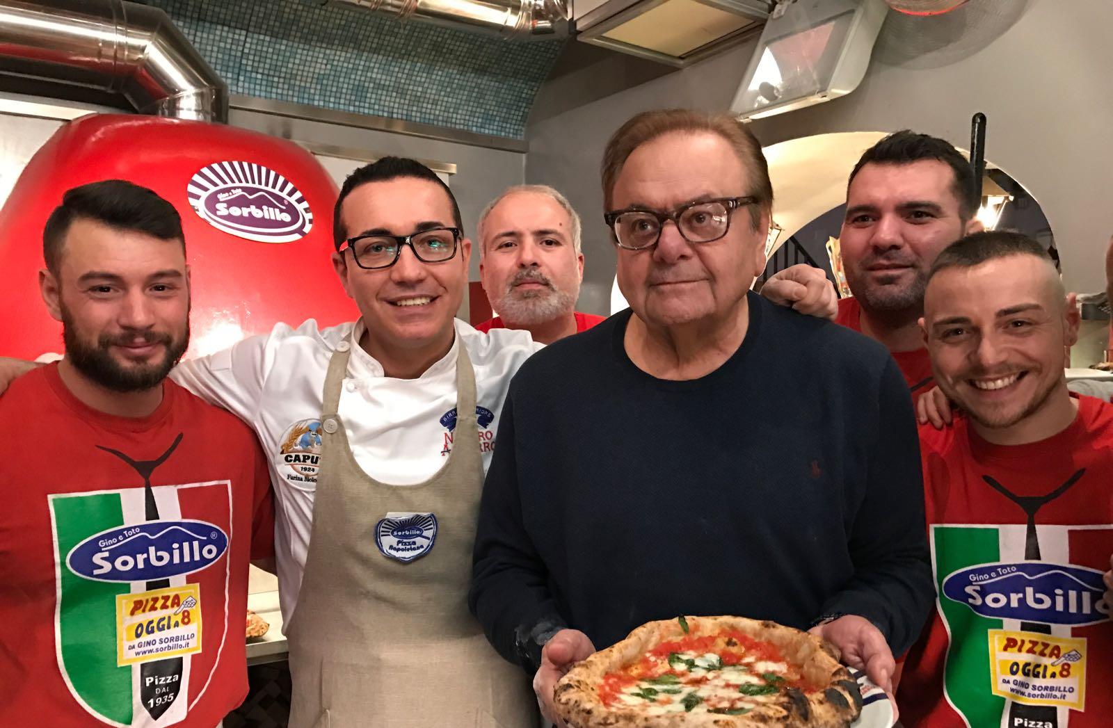 Gino Sorbillo Paul Sorvino