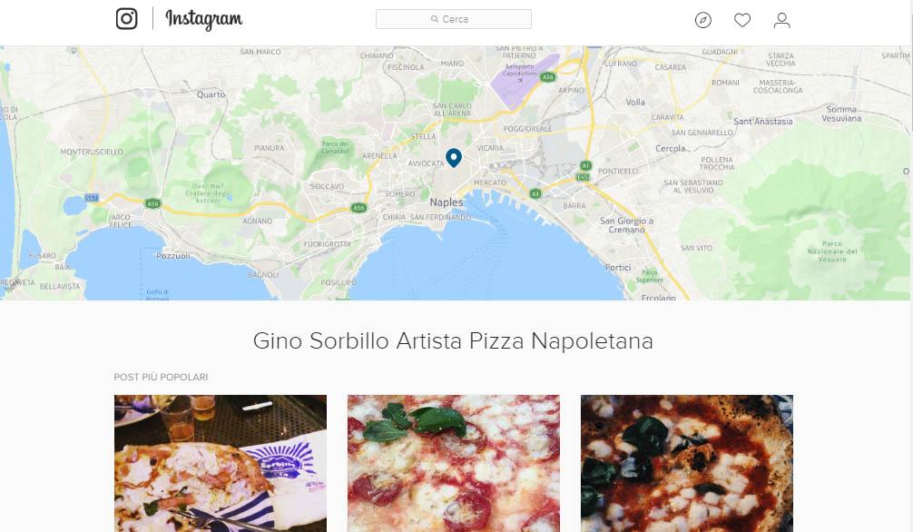 Instagram geolocalizzazione