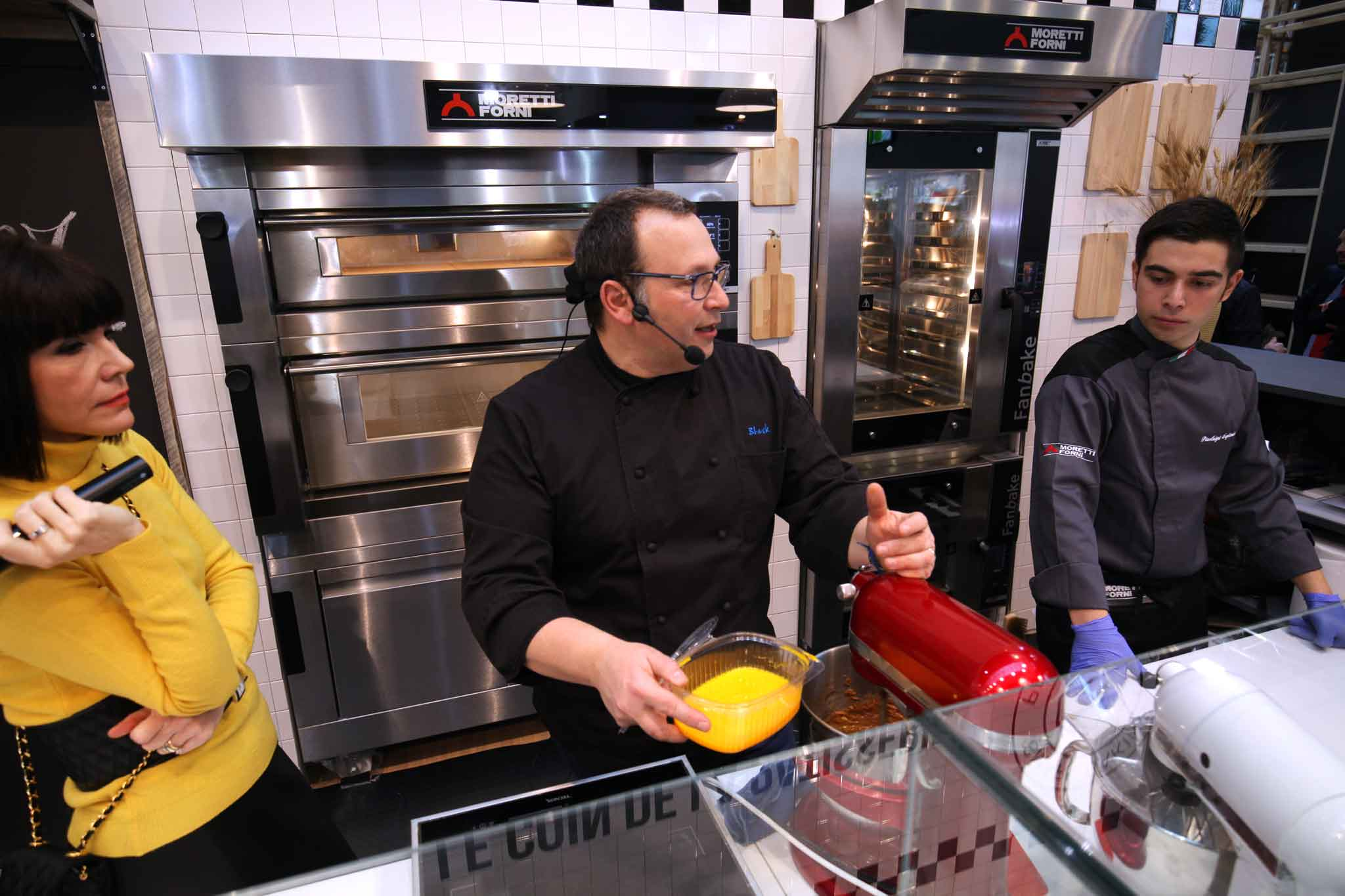 Maurizio Santin ricetta bigne perfetto