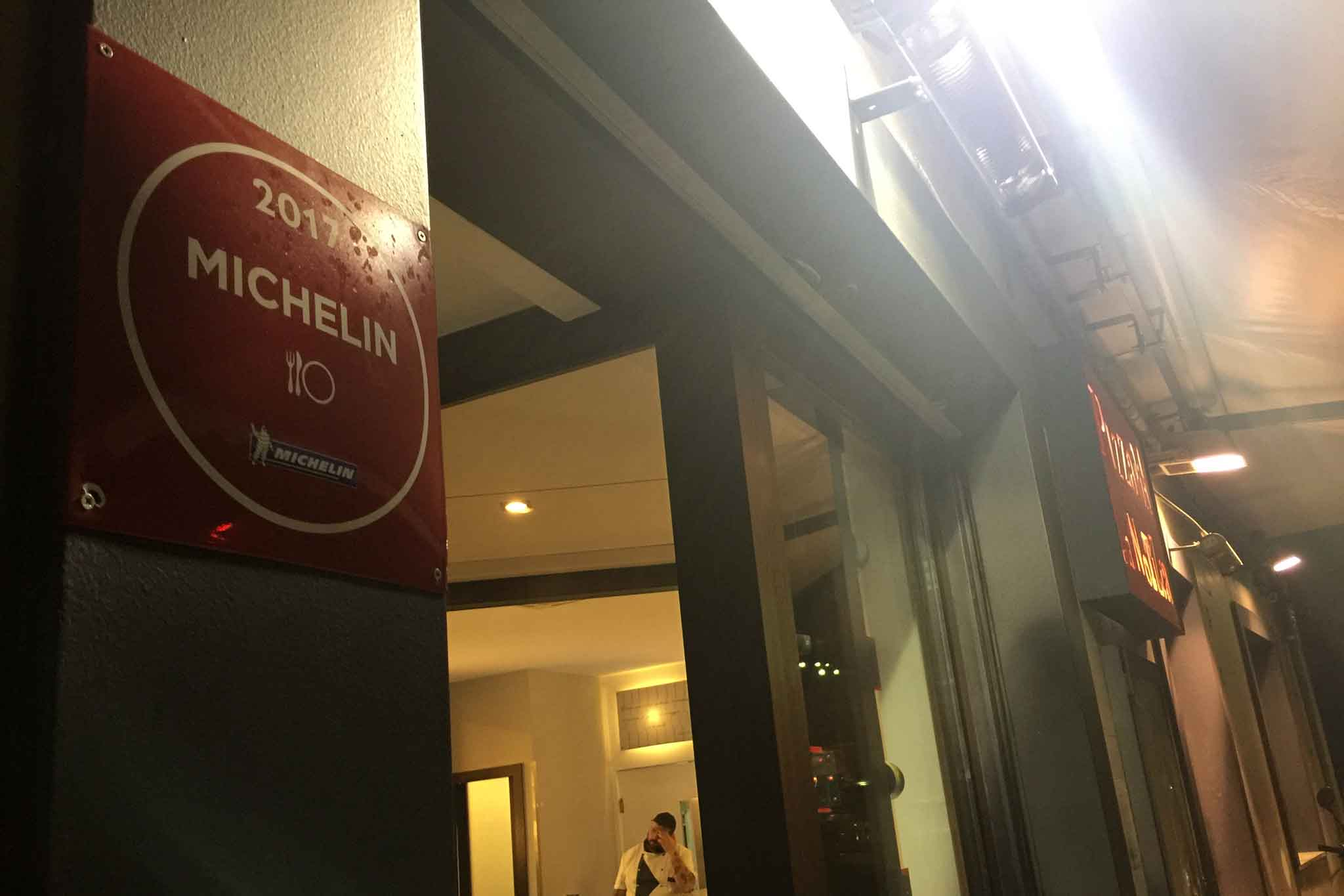 Michelin pizzeria La Notizia