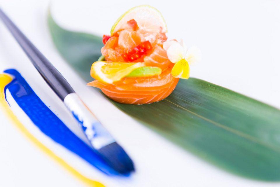 Sushi Art Milano piatto salmone