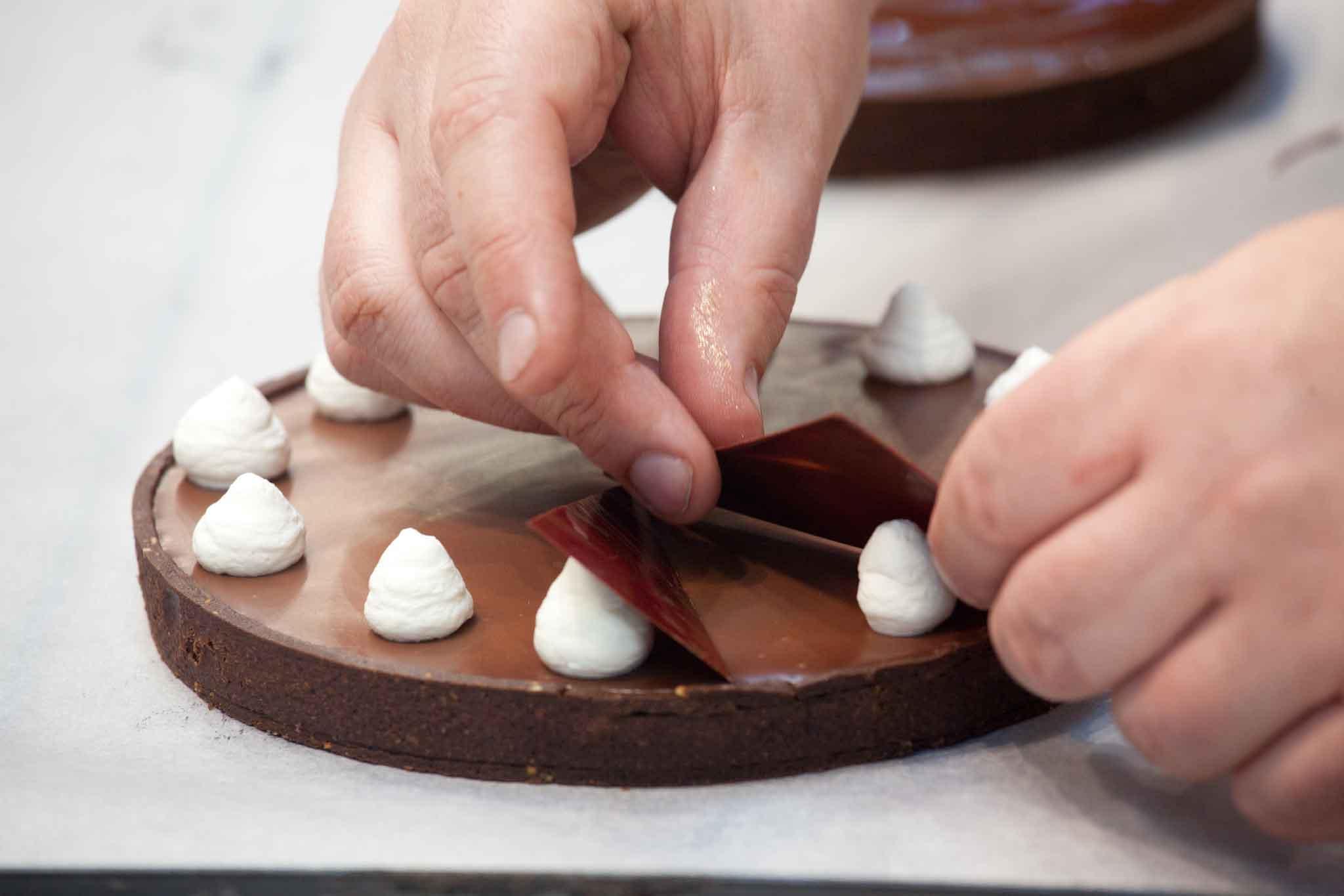 finitura crostata cioccolato