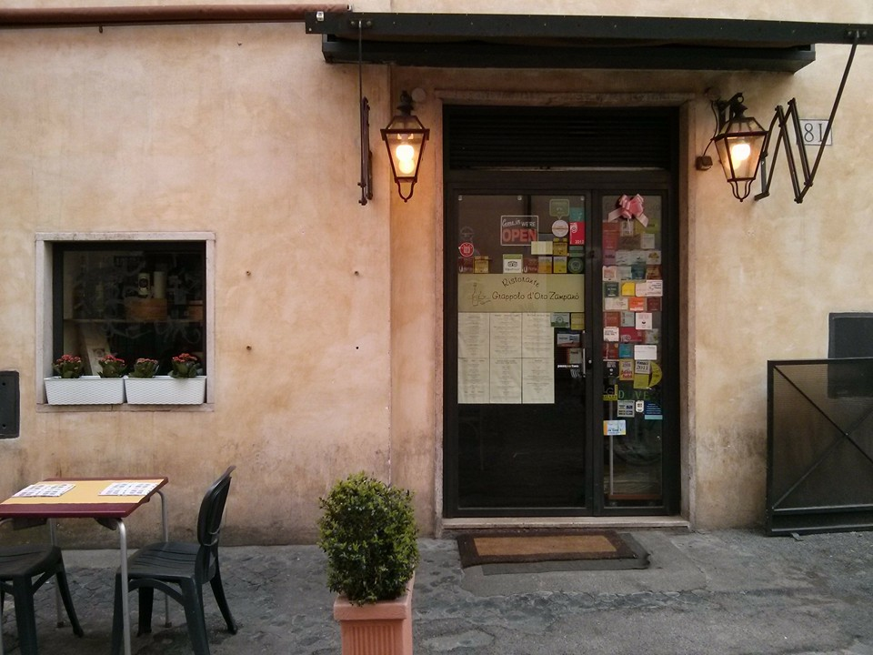 grappolo oro ristorante roma