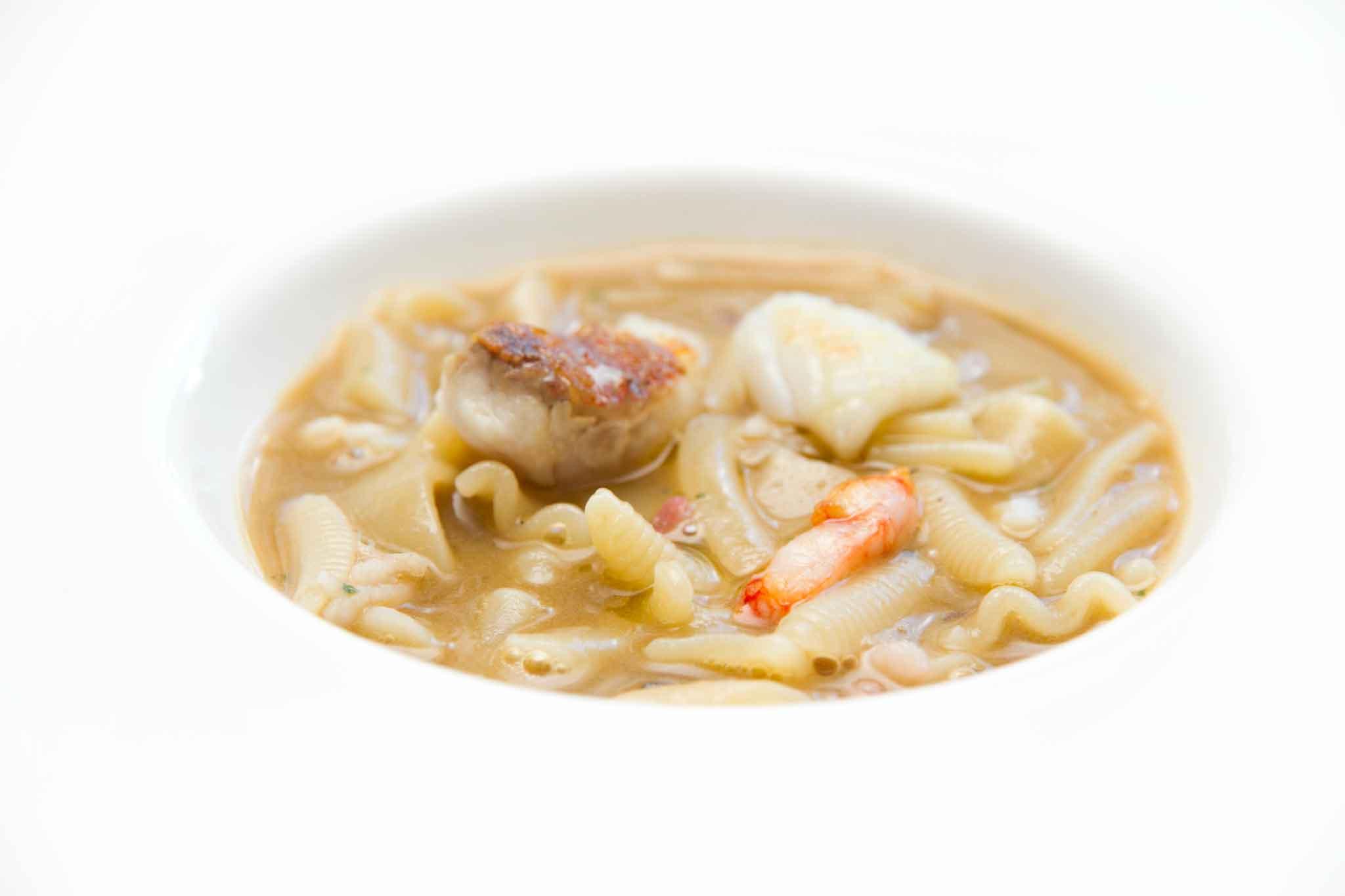 minestra di pasta Gennaro Esposito