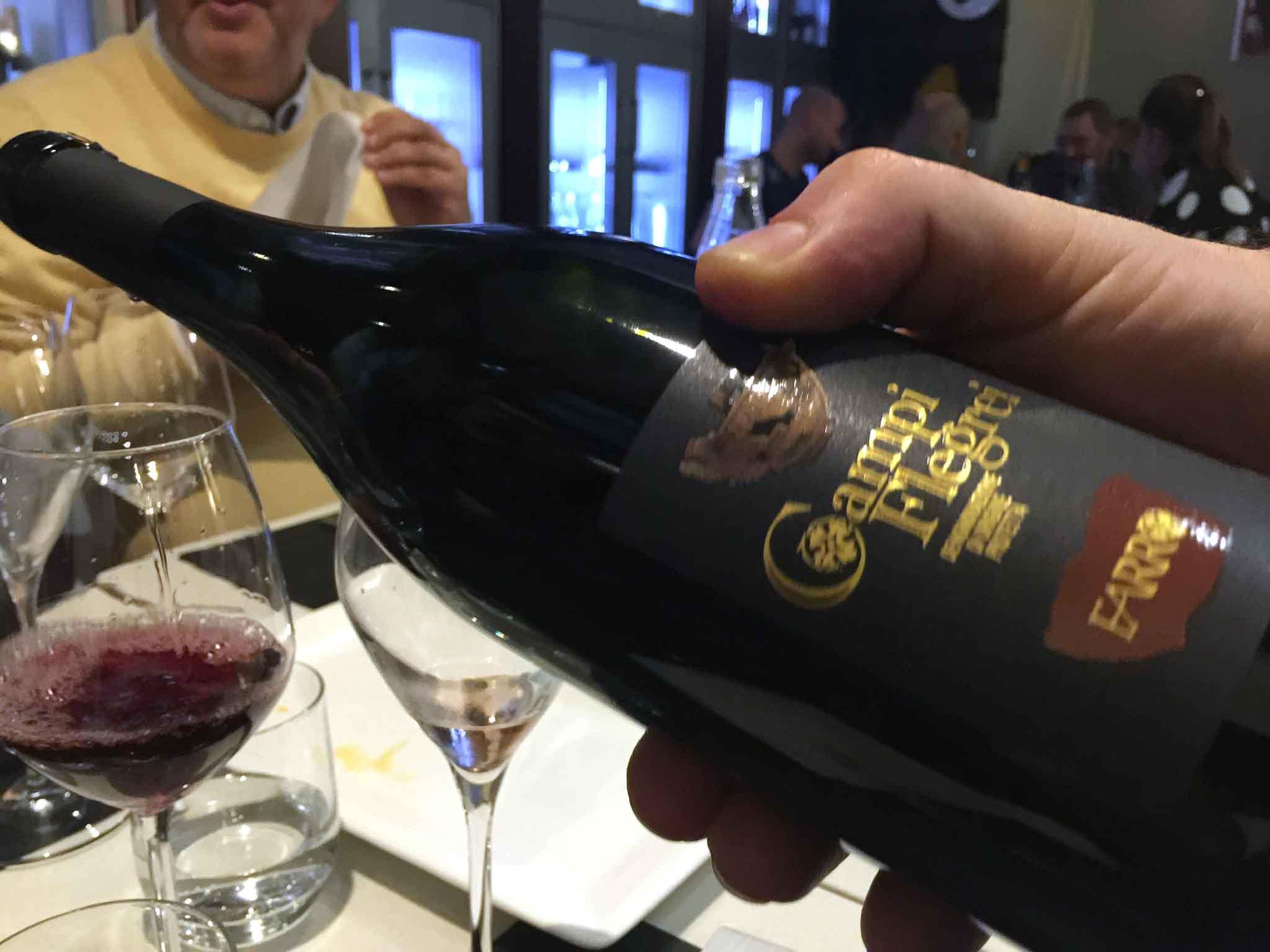 piedirosso vino Campi Flegrei Cantine Farro