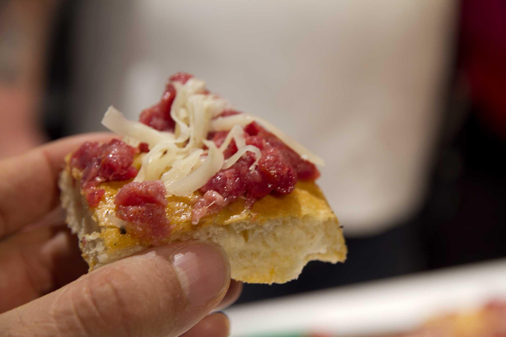 pizza Bonci marchigiana