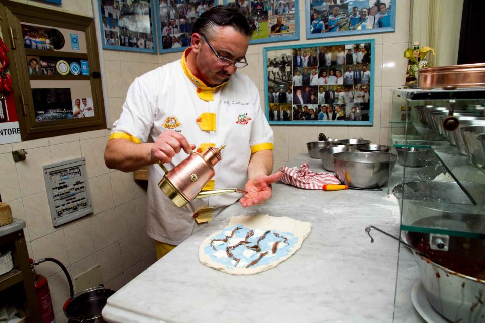 pizza canotto materassino Capatosta Recale