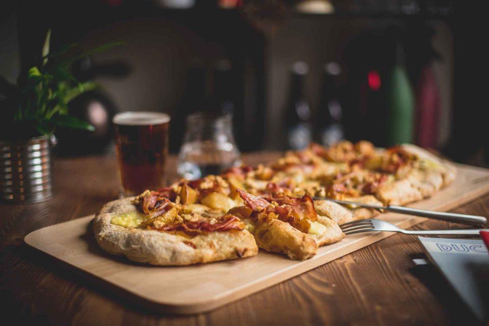 pizza in pala Bologna Ducati Scrambler
