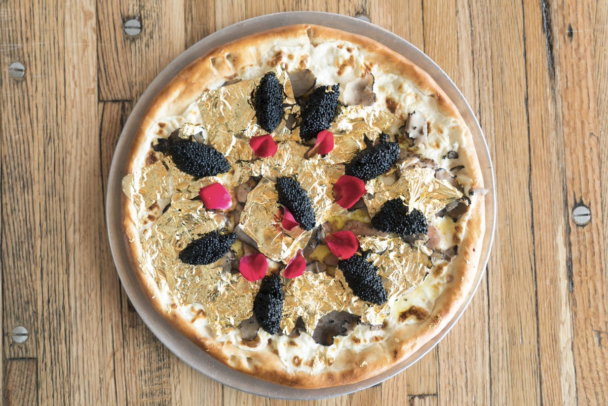 pizza piu costosa mondo oro caviale