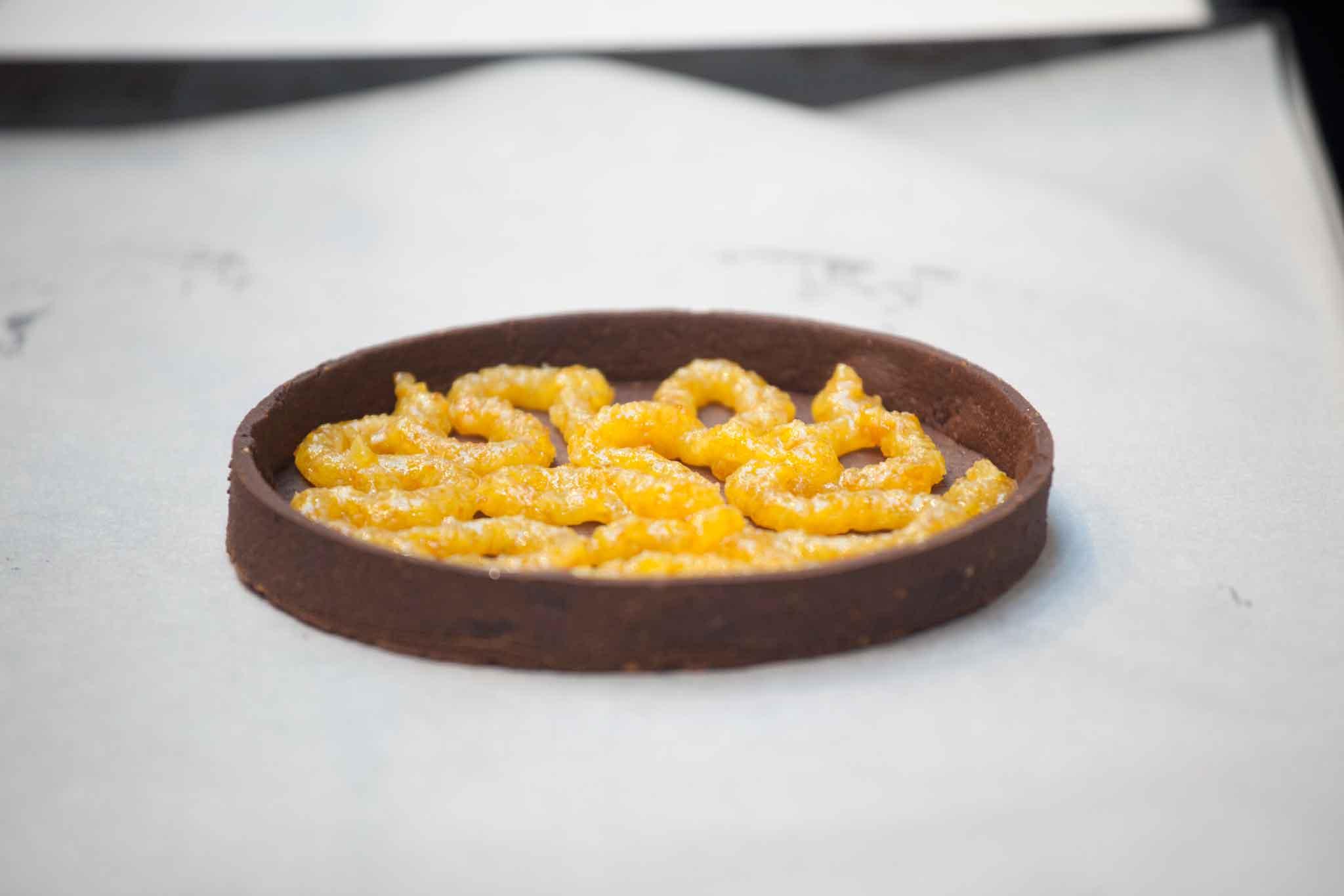 preparazione crostata cioccolato Gianluca Fusto