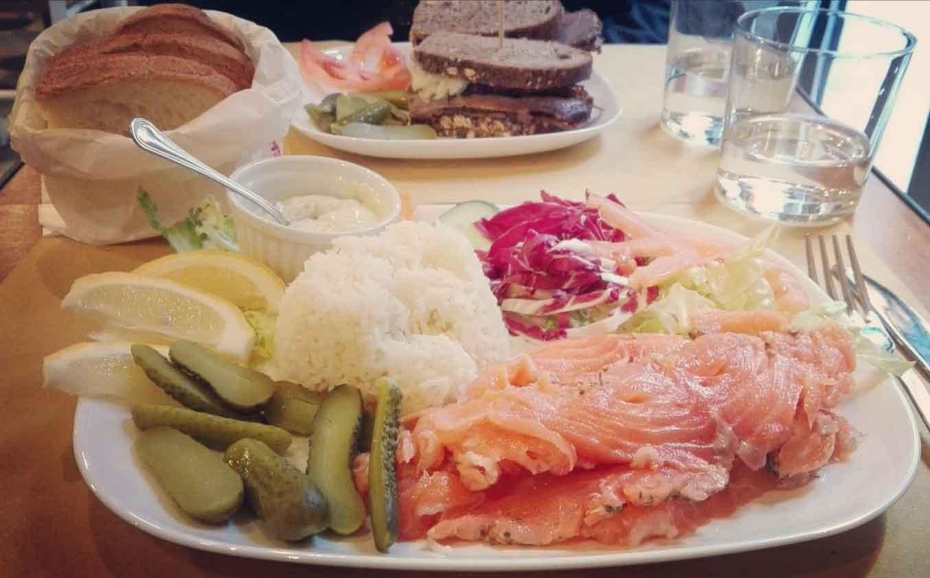 salmone piatto