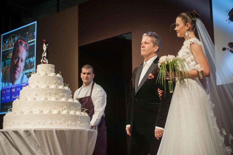 Ernst Knam sposa