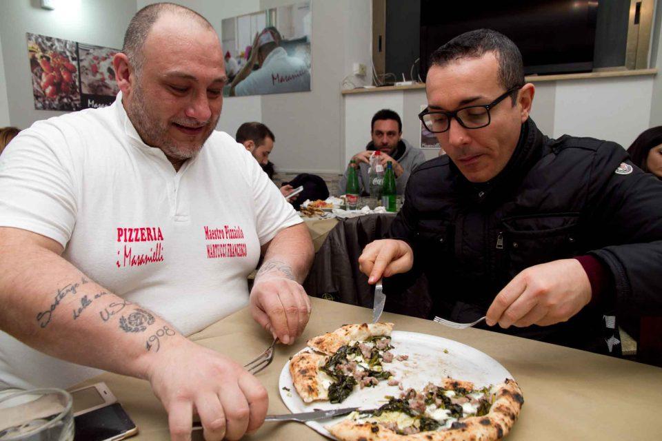 Francesco Martucci e Gino Sorbillo