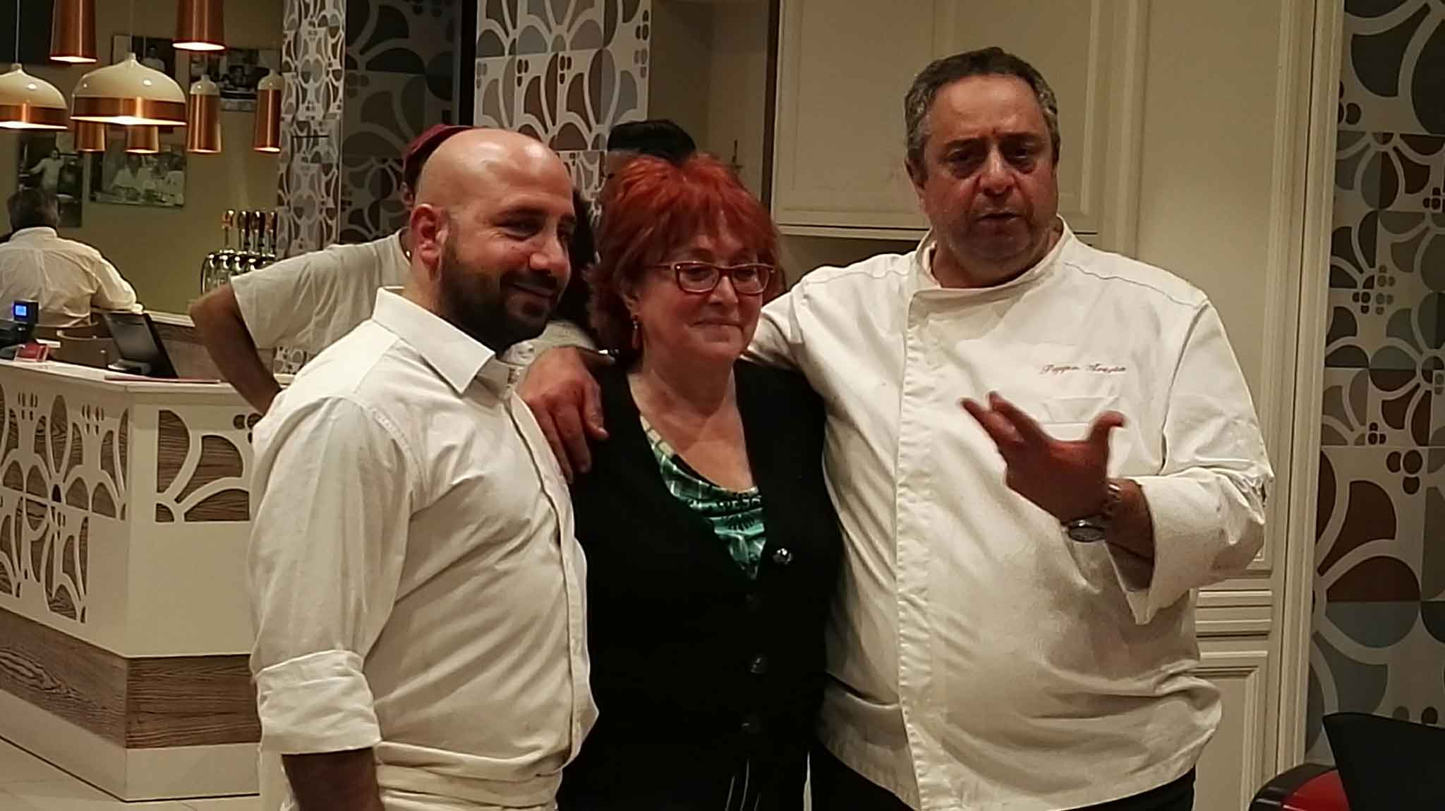 Luca Castellano e Peppe Aversa