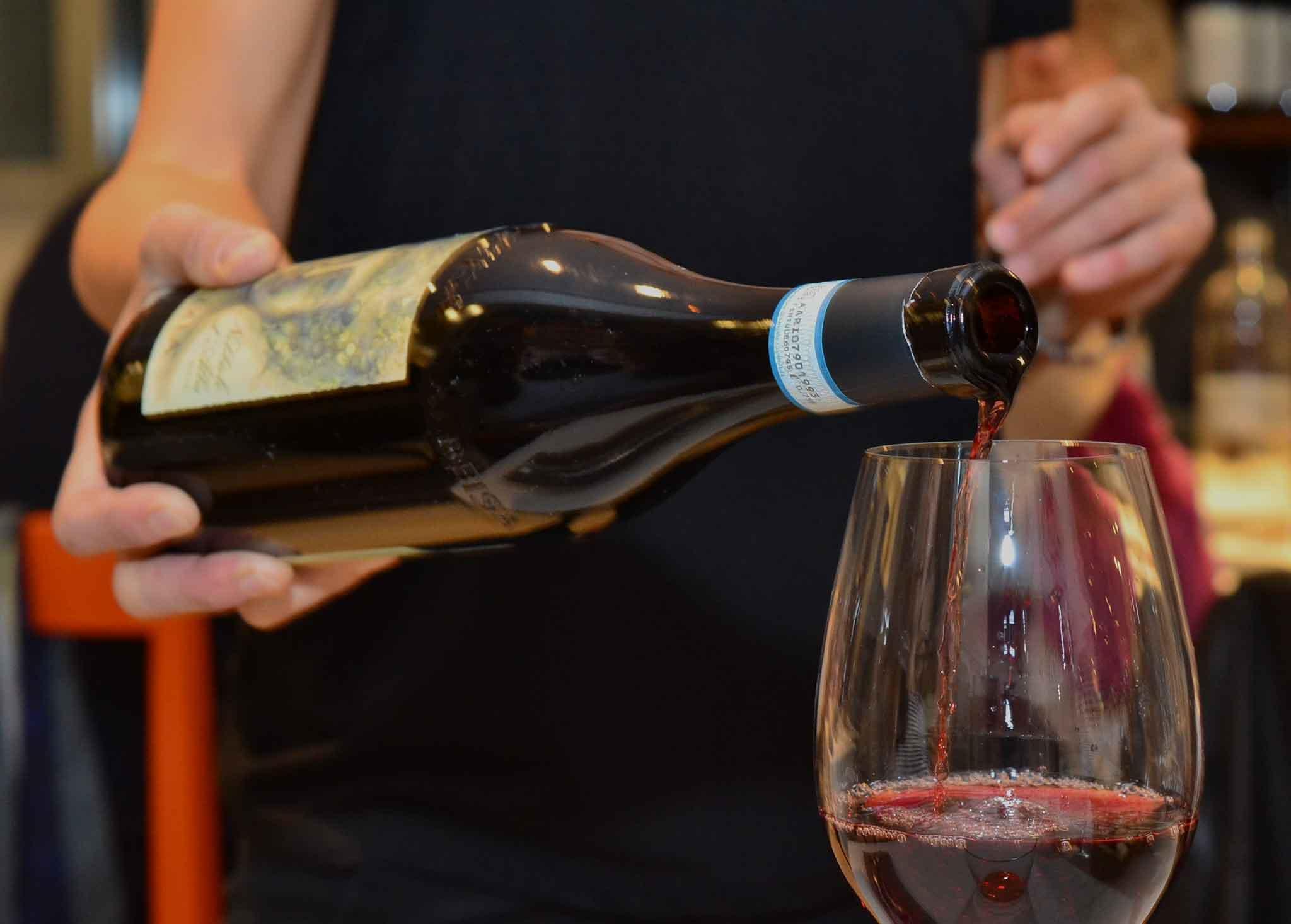 Osteria Arco Alba nebbiolo vino rosso
