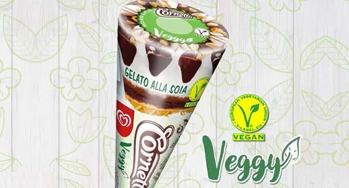 cornetto vegano algida Veggy