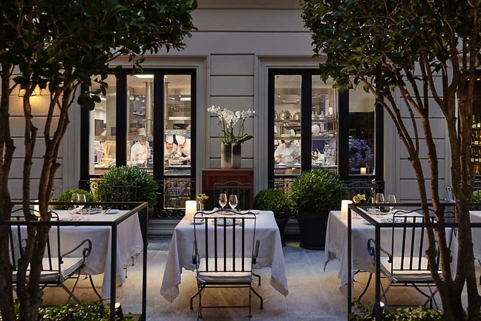 cucina Seta Mandarin Hotel Milano