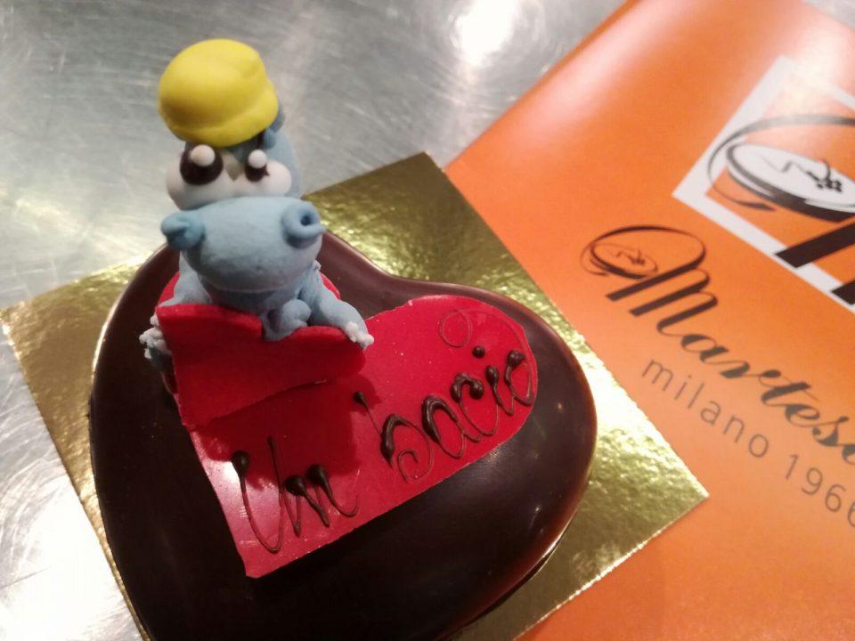 cuore di cioccolato Martesana