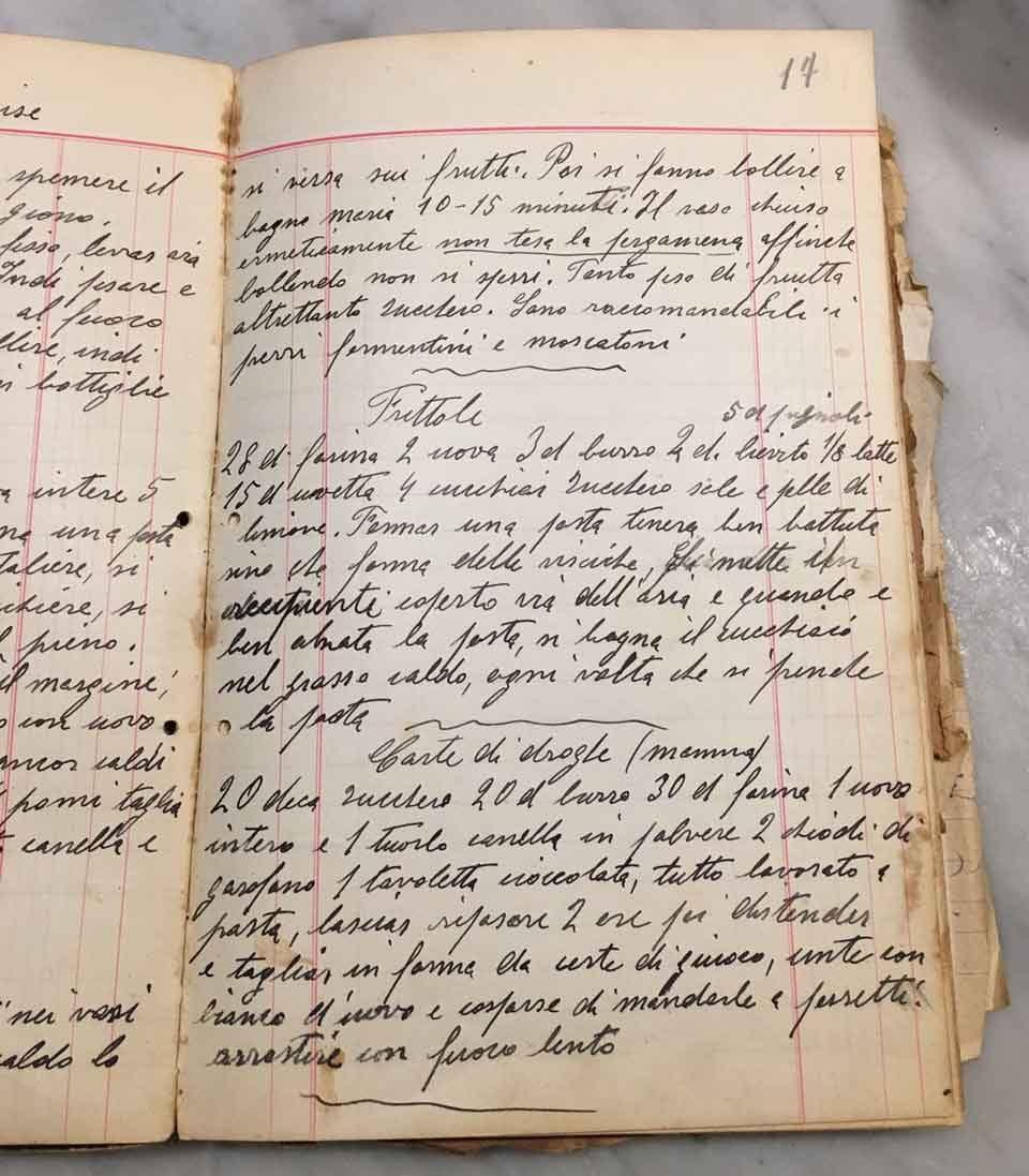 frittole-quaderno-ricetta