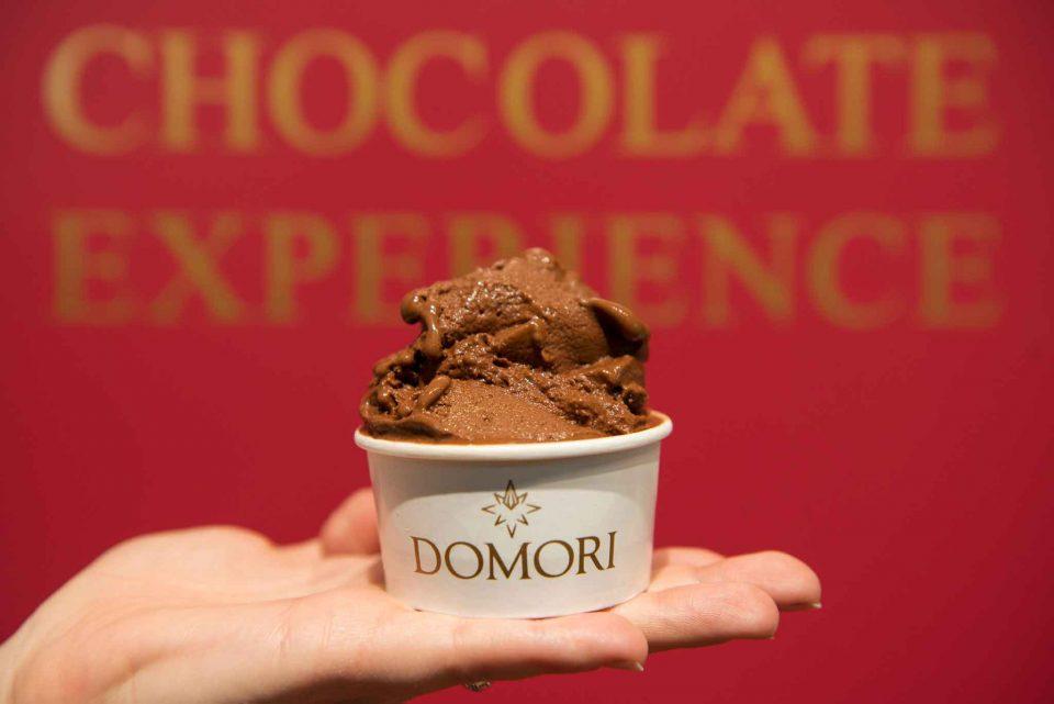 gelato cioccolato Domori