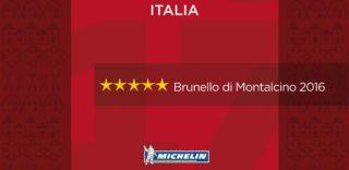 Anteprima Brunello. La Guida Michelin firma la mattonella della vendemmia a cinque stelle