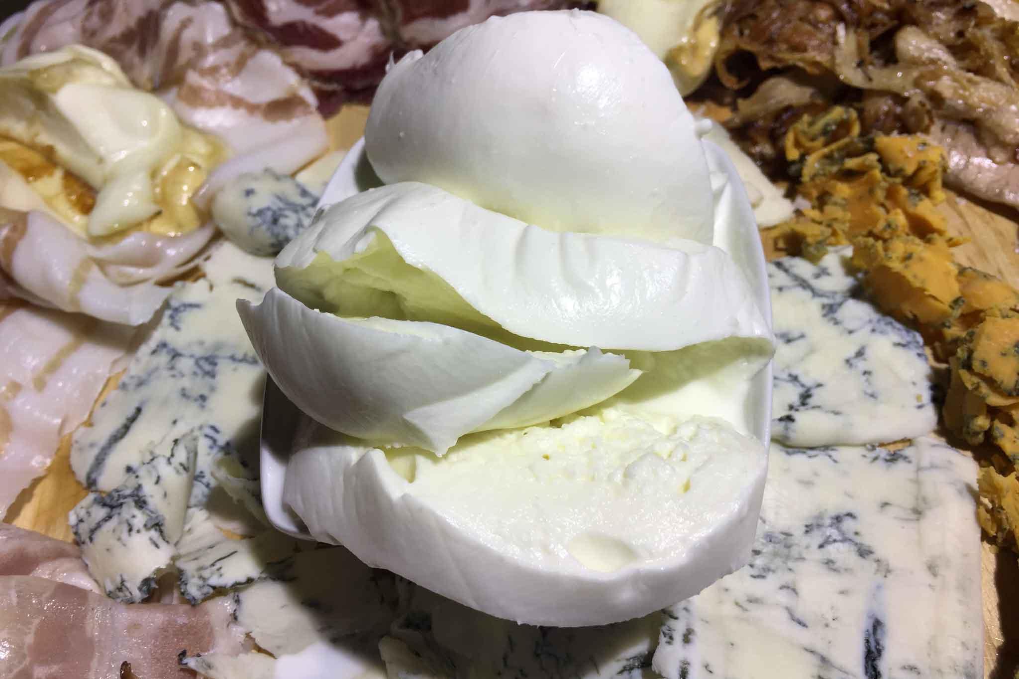 mozzarella di bufala Pagliuca