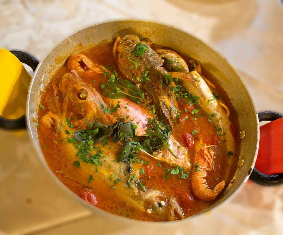 osteria dentro mura molise zuppa pesce
