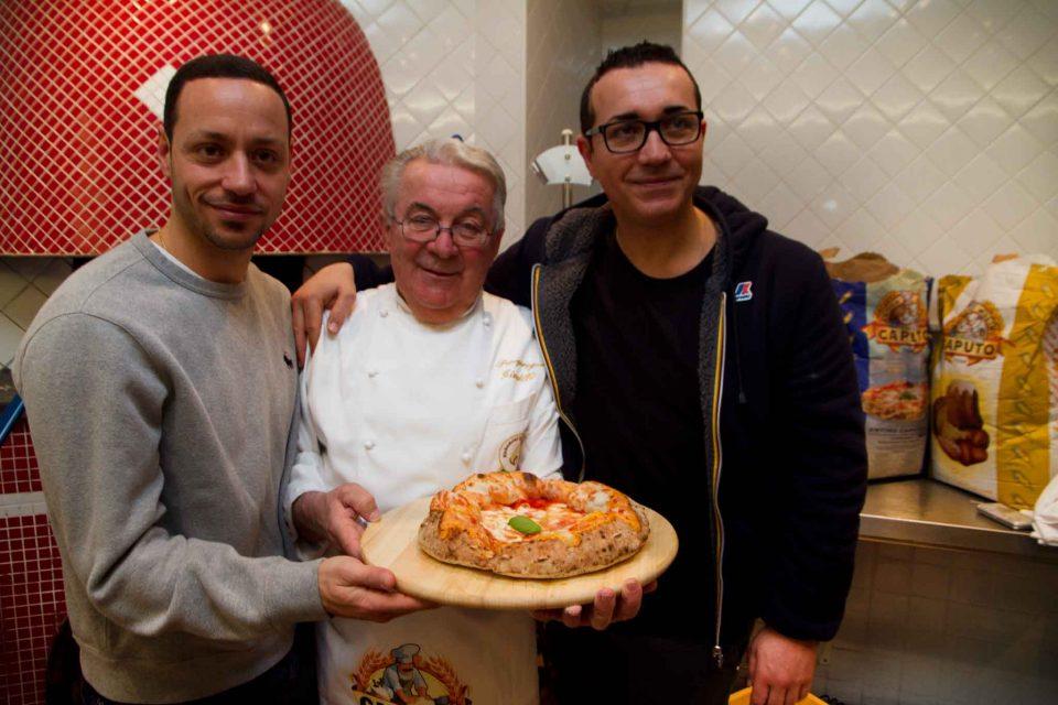 pizza a canotto Sorbillo Giorilli
