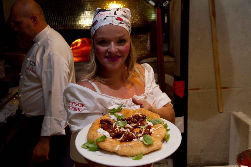 pizza fritta Teresa Iorio