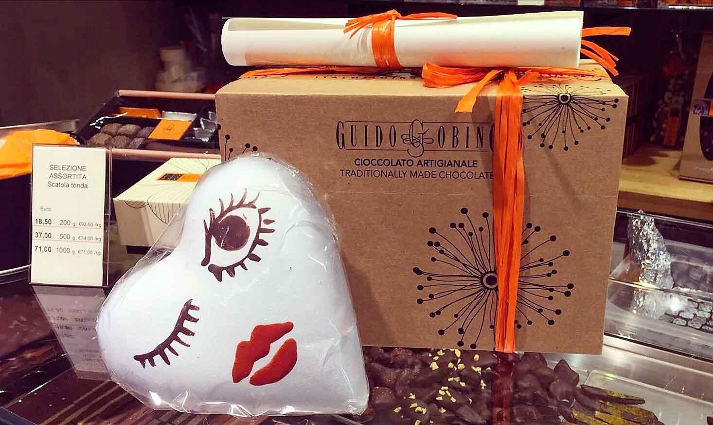 regali San Valentino cuori Guido Gobino