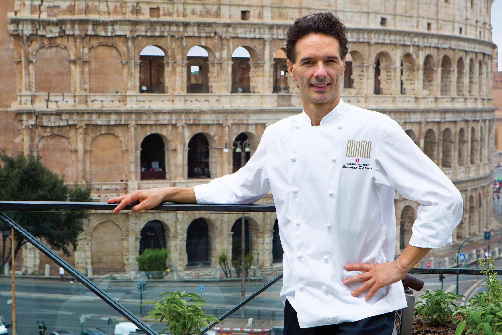 Giuseppe di Iorio di Aroma Restaurant