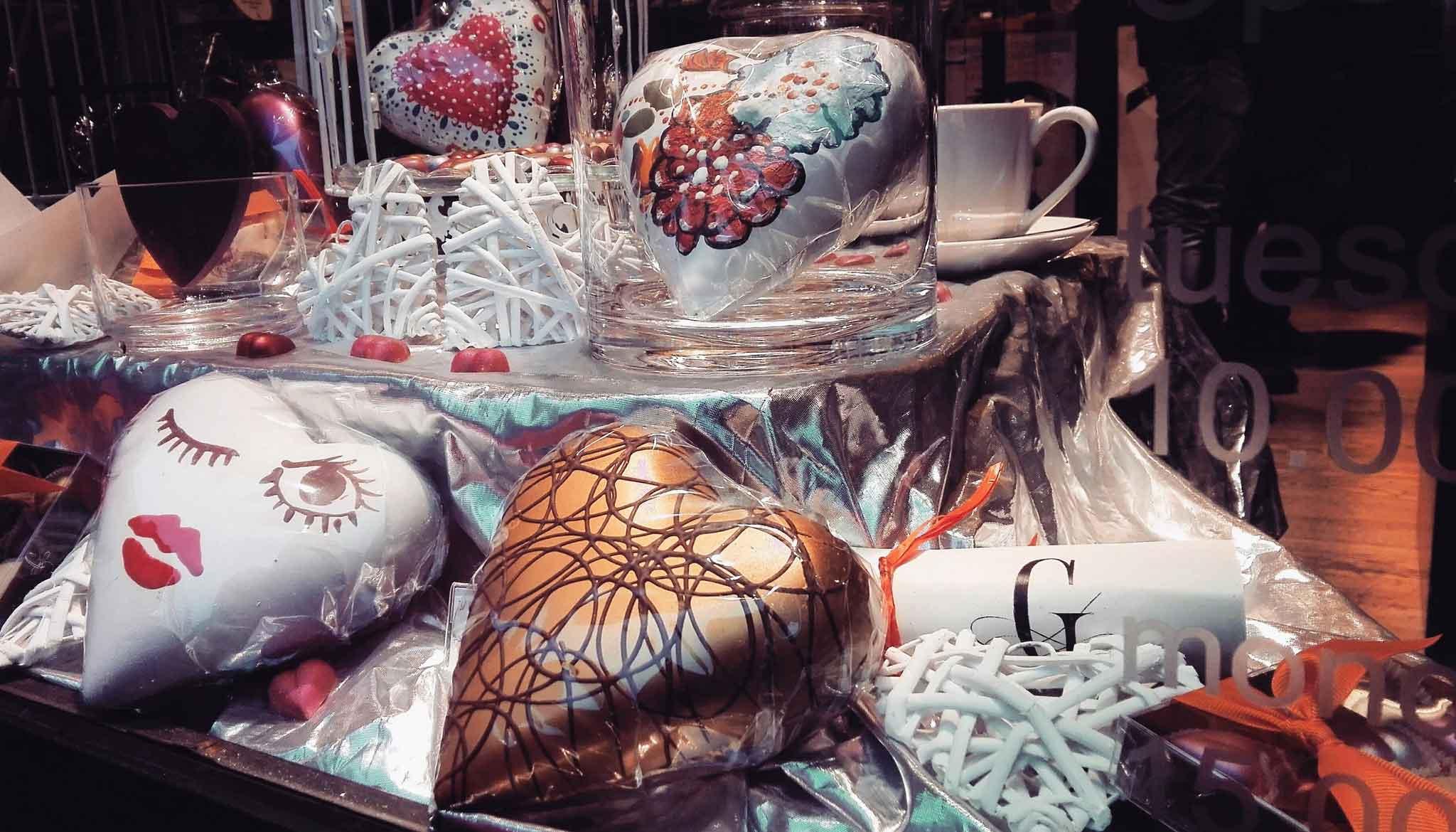 san valentino regali cuori cioccolato