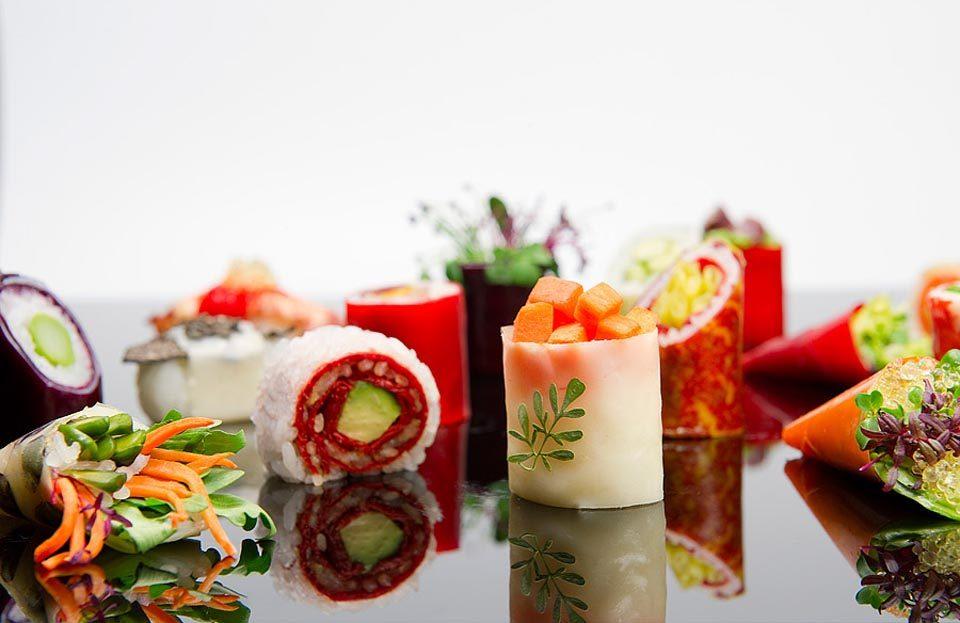 sushi lamine vegetali