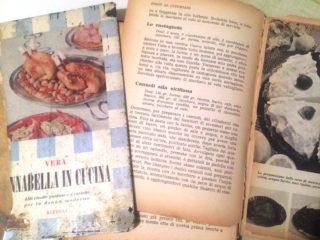 Vintage. La ricetta delle castagnole dal ricettario del 1955