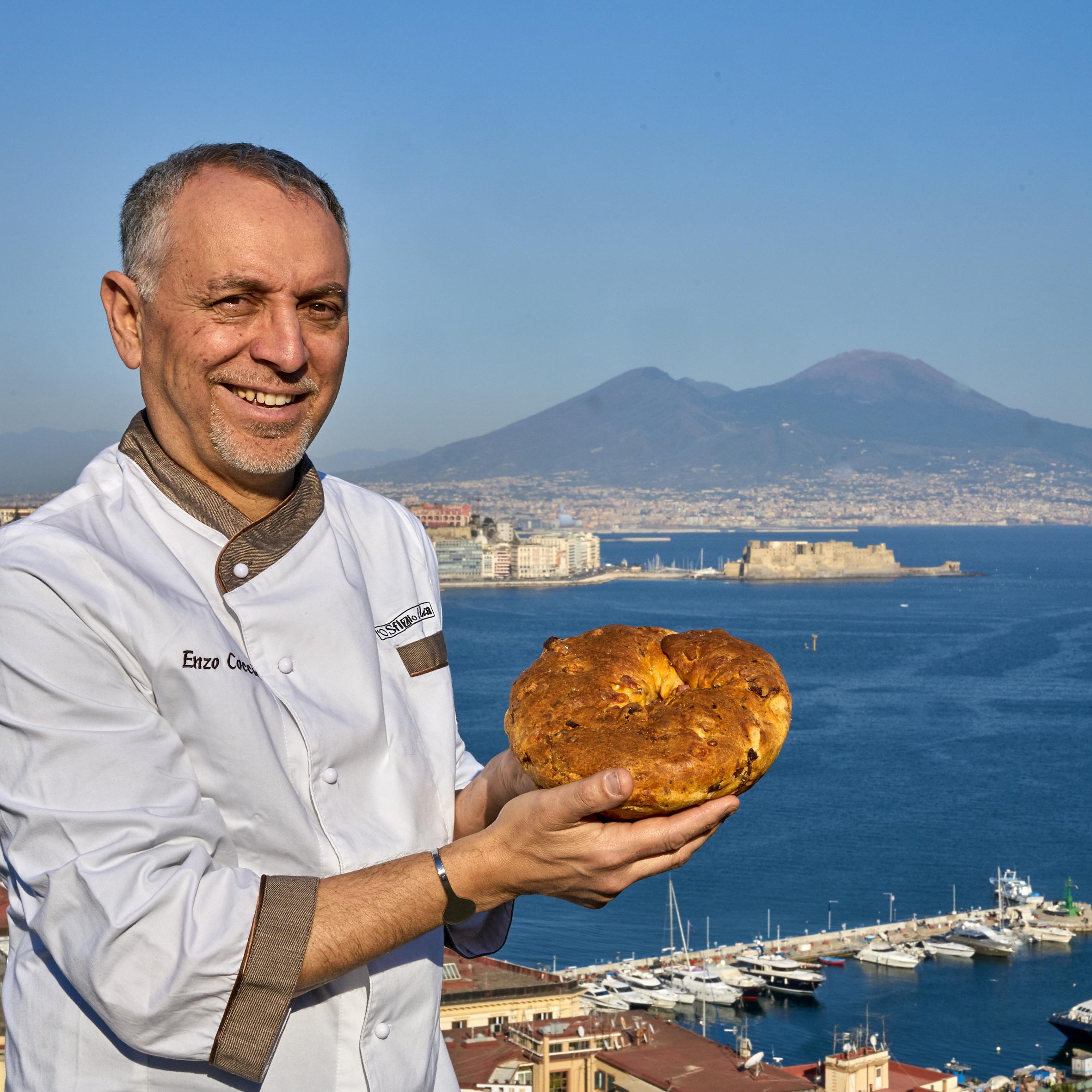 Casatiello pizza Pasqua Enzo Coccia