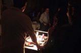 Napoli. Cena al buio al Paolo Colosimo con Fiorella Breglia