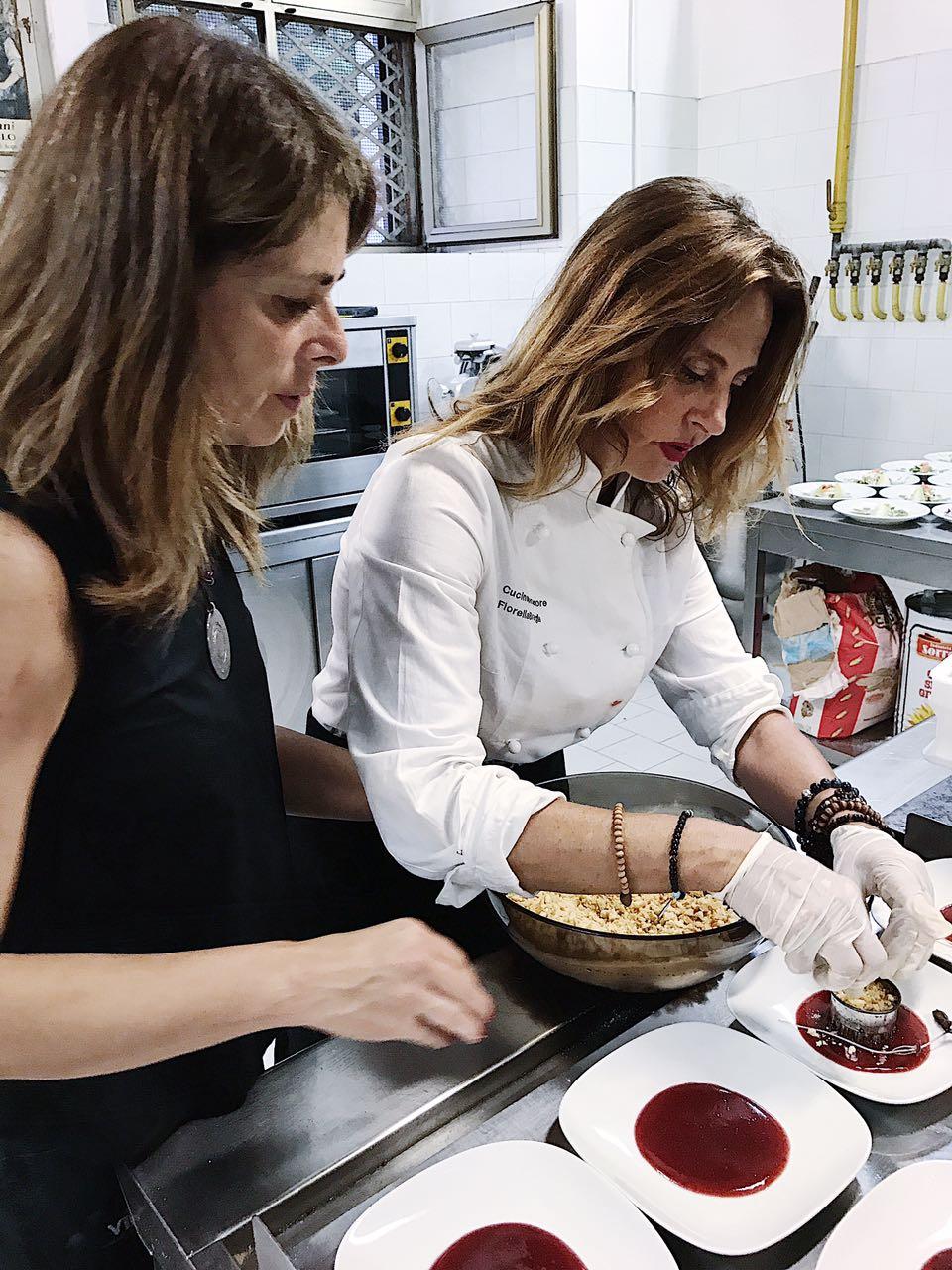 Napoli cena al buio al paolo colosimo con fiorella breglia - Giornali di cucina ...