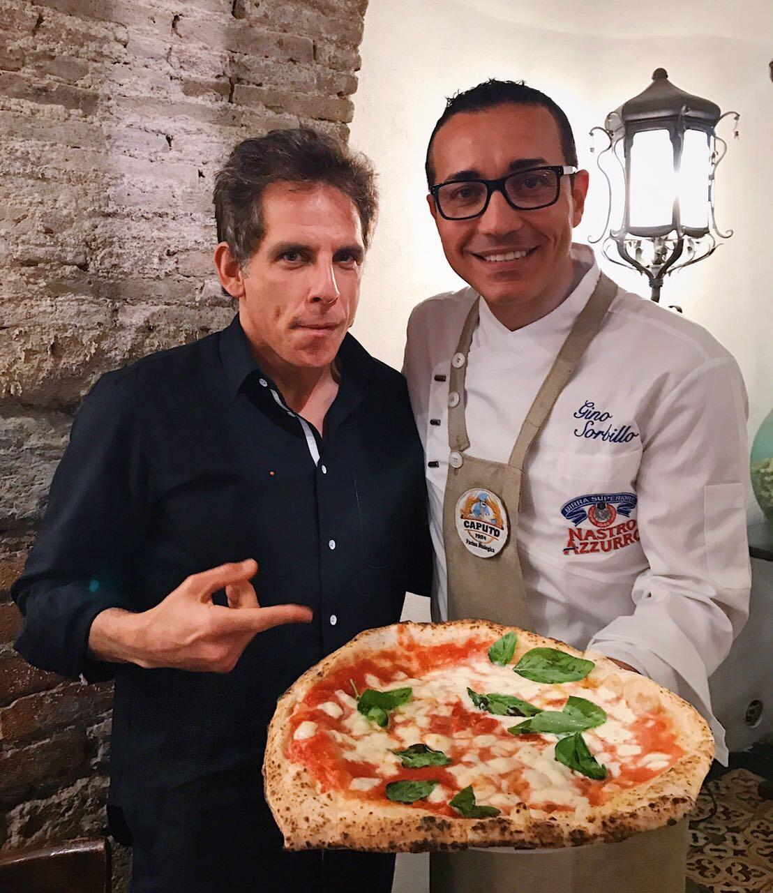 Ben Stiller e Gino Sorbillo