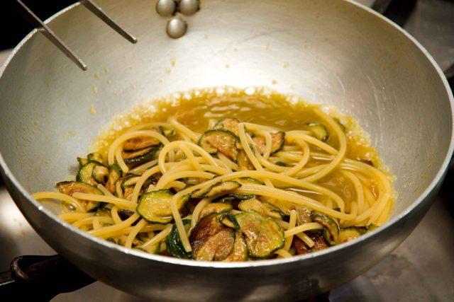 acqua cottura spaghetti alla Nerano
