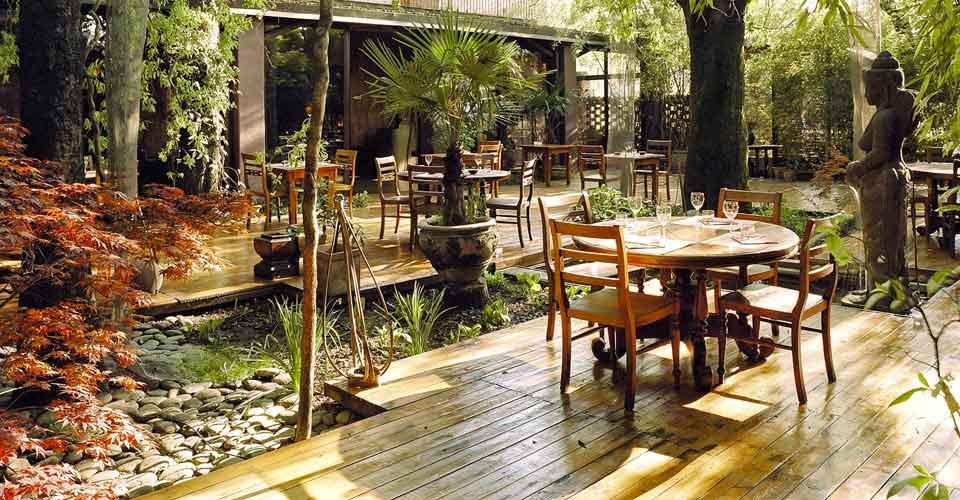 Candele Da Giardino Milano : Milano la pausa pranzo nel giardino zen di shambala