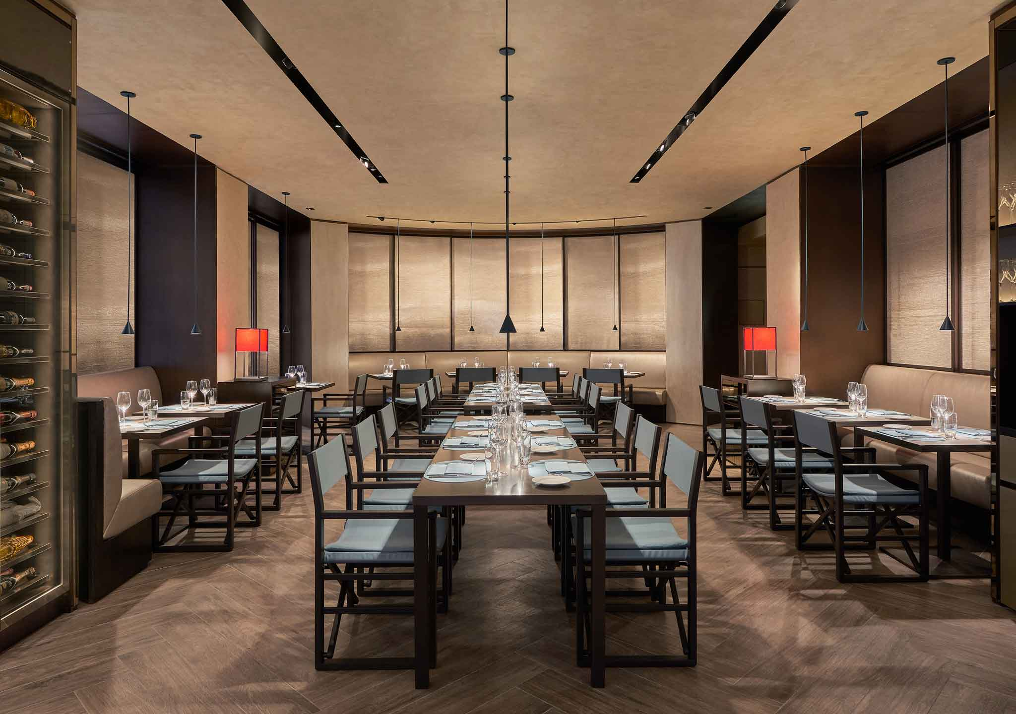 Bologna come si mangia al nuovo ristorante emporio armani for Ristorante il rosso bologna