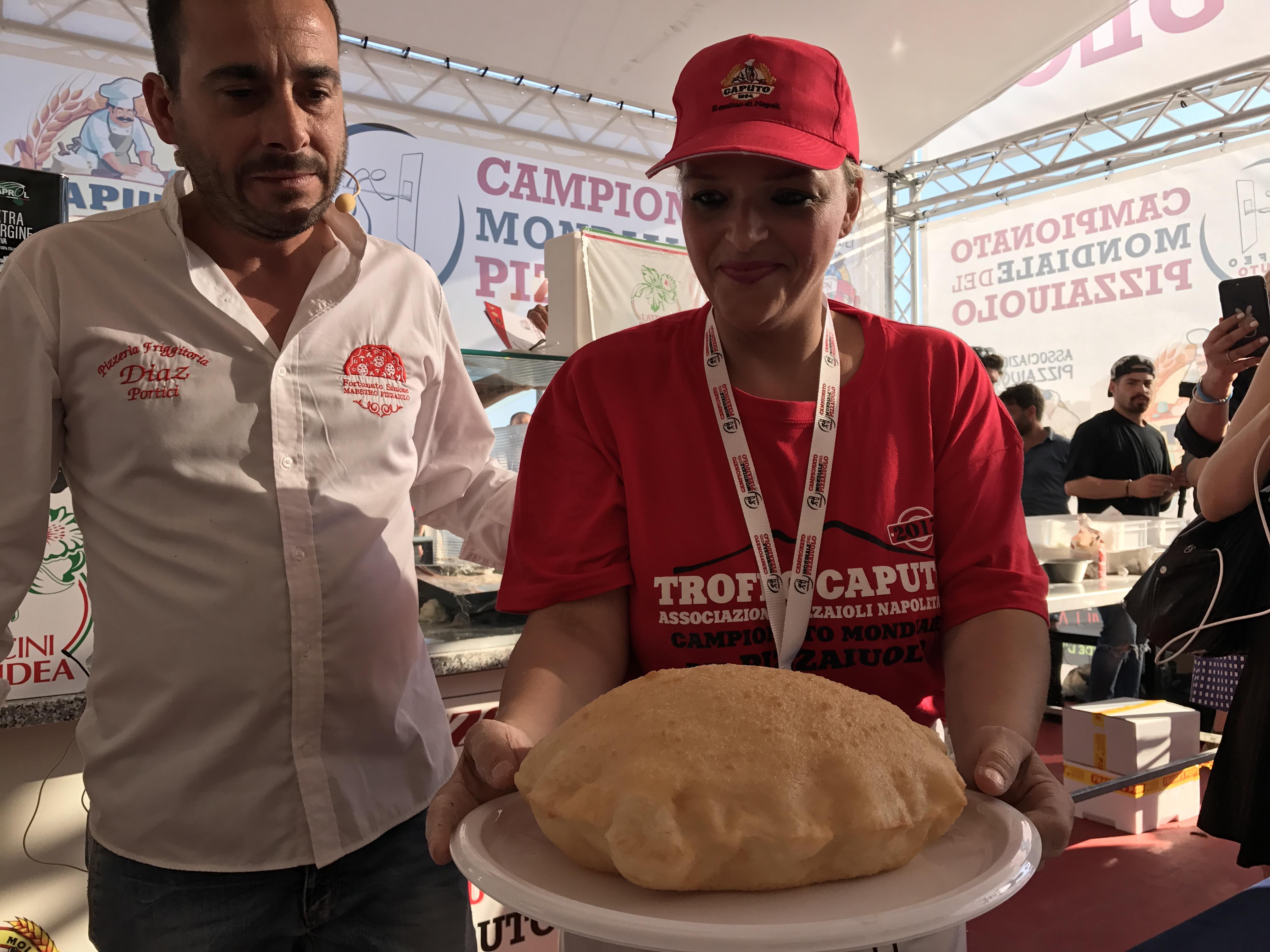 Teresa Iorio vince Pizza Fritta