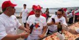 Pizza più lunga del mondo. La California si prende il record ma Napoli c'è ancora