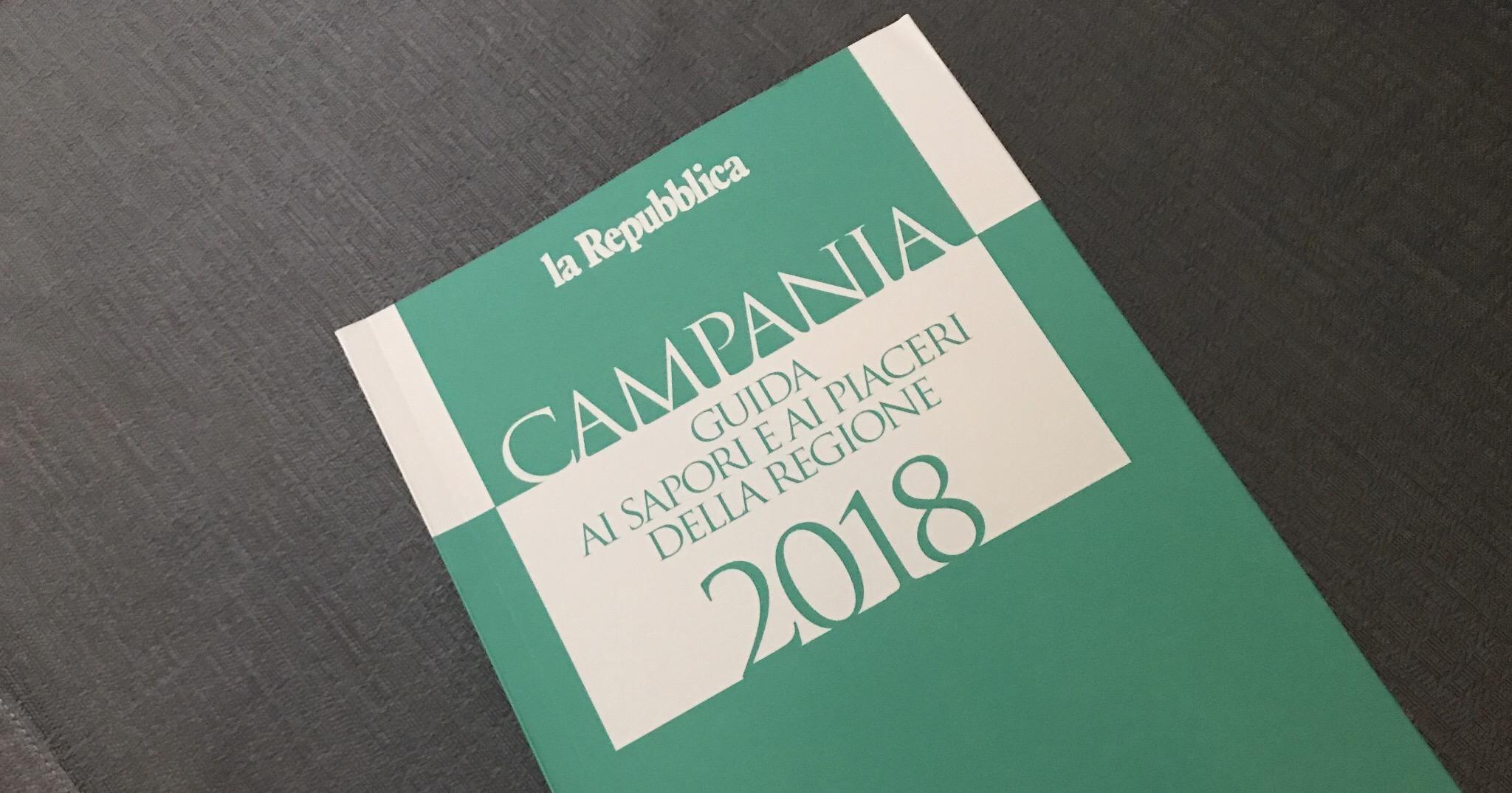 Guida Repubblica 2018 Campania enogastronomia