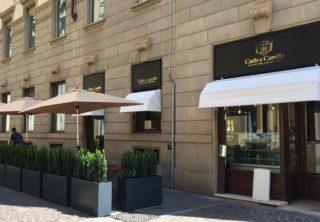 Torino. Menu e prezzi di Carlo e Camillo, bistrot del ristorante Carignano che apre nel cuore della città